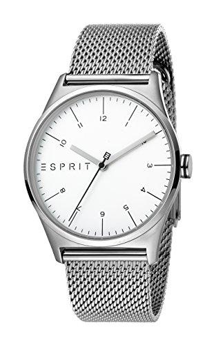 Esprit Hommes Analogique Quartz Montre avec Bracelet en Acier Inoxydable ES1G034M0055