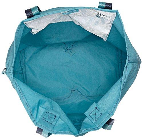 Kipling - Hip Hurray 5, Borse Tote Donna Turchese (Turquoise Dream)