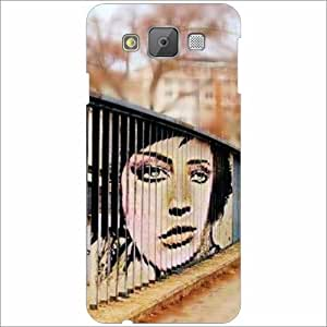 Printland Designer Back Cover for Samsung Galaxy E5 Case Cover