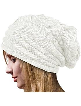 Tuopuda® Cappello Donna Invernale Cappelli Donna Berretti Maglia per Donne  Beanie Hat a5bde5140efd