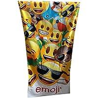 Textil Tarragó Emoji Toalla de Playa, Algodón, Multicolor, 30x40x3 cm