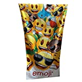 Textil Tarragó Emoji Toalla de Playa, Algodón, 30x40x3 cm
