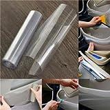 StickersLab - Pellicola protettiva adesiva trasparente antischeggiatura carrozzeria auto (Misura - 152cm x 50cm)