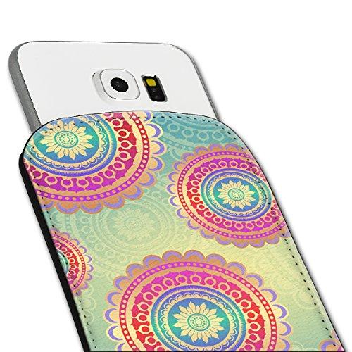 Sleeve Style Handy Tasche Case Schutz Hülle Schale Motiv Etui für Apple iPhone 6 / 6S - Sleeve UBS18 Design10 Design 12