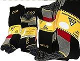 Lieblingsstrumpf24 6 Paar CSO Militär Schwarz Grün Socken Arbeitssocken aus Baumwolle hochwertig Ferse Spitze verstärkt (39-42, CSO Style)