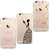 ivencase 3X Coques 3 en 1 Coque iPhone 6, Etui iPhone 6S TPU Silicone Souple Coque...