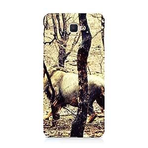 Hamee Designer Printed Hard Back Case Cover for Samsung Galaxy On Max Design 9320