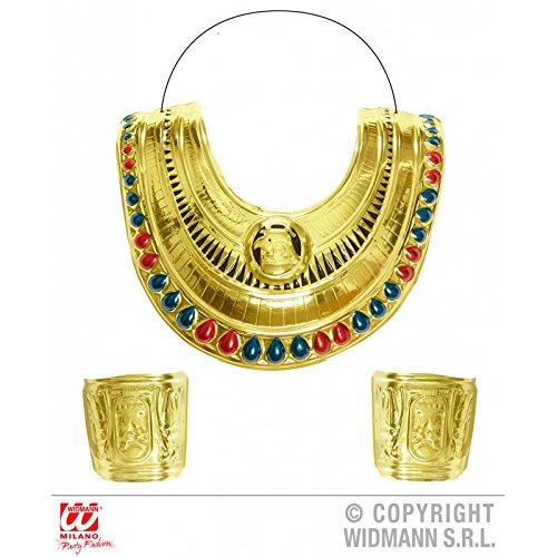Ägyptischen Schmuck Kostüm - Generique - Kit ägyptischer Schmuck Damen