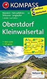 Oberstdorf, Kleinwalsertal: Wanderkarte mit Aktiv Guide, Radwegen, Loipen und alpinen Skitouren. GPS-genau. 1:25000 (KOMPASS-Wanderkarten, Band 3) -