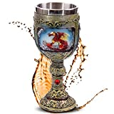 mtb more energy Calice Flaming Dragon - Dragone di Fuoco - Decorazione Medievale Fantasy
