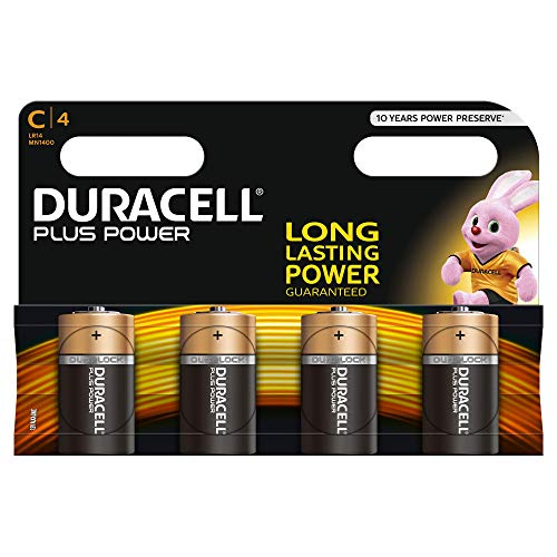 Duracell - Pila Alcalina - Cx4 Plus Power