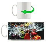 frutti scuri diversi, tazza Motif in bianco 300ml ceramica, grande idea regalo per ogni occasione. La tua nuova tazza preferita per caffè, tè e bevande calde.