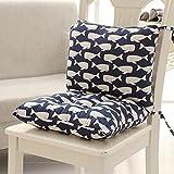 DADAO Extra komfortabel & Weichen sitzkissen Student-sitzkissen Stuhl Polster für gartenmöbel Ergonomische Memory-Schaum,Sitzkissen kit-A 40x80cm(16x31inch)