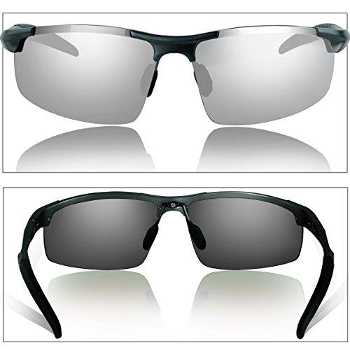 7d562da161 DUCO Occhiali da sole polarizzati uomo Occhiali sportivi Occhiali ...