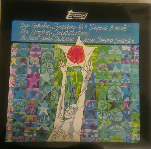 TV 34168S. Van Holmboe / Per Norgard - Symphony No 8 & (2) Constellations, Royal Danish/Semkow. VINYL LP - VG+/VG+