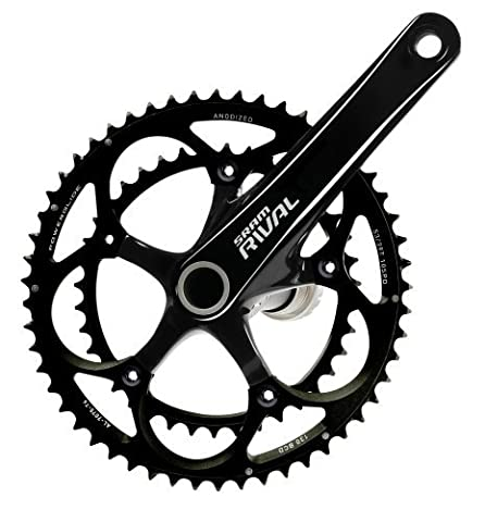SRAM Rival OCT GXP 180 53-39T Rival OCT Standard Crankset with BB by SRAM