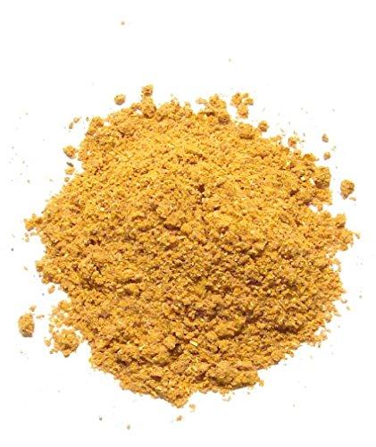 Estee Körper Pulver (YUMI BIO - Oliven-Kern-Peeling-Pulver - 100% natürlich - Peeling für Gesicht und Körper - 30 gr)