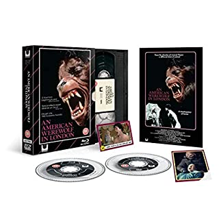 An American Werewolf in London Bluray & Dvd Limited Edition VHS Range collection (No Vhs is included)