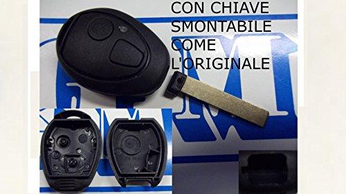 G.M. Production MIN026 Schlüssel für Rover und Mini, Gehäuse und Fernbedienung, ohne Elektronik, kein Logo [Fotos und Angaben zur Kompatibilität beachten]