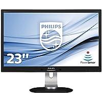 """Philips 231P4QPYEB P-LinePS Monitor 23"""", Nero, Nero"""
