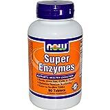 Now Foods Super Enzyme Enzymmischung für gesunde Verdauung, 90 Tabletten