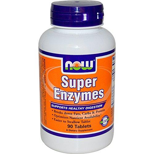 Now Foods Super Enzyme 90 Kapseln glutenfrei (Super Papaya)