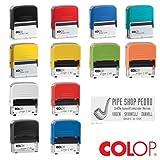 COLOP Printer Stempel Compact VERSCHIEDENE TINTENFARBEN (40)