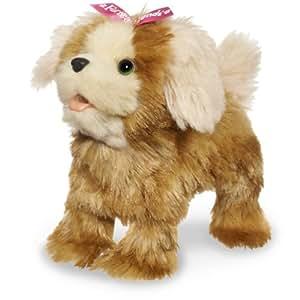 FurReal Friends Walking Puppies Mini Morkie -Barks, Makes Puppy Noises, Walks
