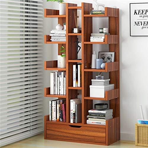 KKCD - Bücherschrank Bücherregal - Holz Bücherregale Display Regal Aufbewahrungsregal Mit Offenen Würfeln Regale Für Wohnzimmer Oder Büro In Einem Modernen Design (Color : C) -