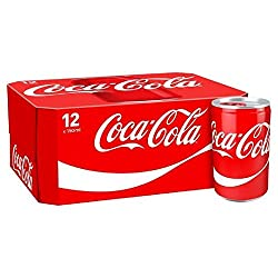 Coca-cola Mini Cans 12 X 150ml