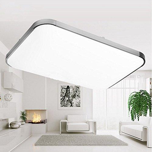 Sailun 48w Warmweiss Kaltweiss Dimmbar Led Modern Deckenleuchte Deckenlampe Flur Wohnzimmer Lampe Schlafzimmer Kuche Energie Sparen Licht 85v 265v