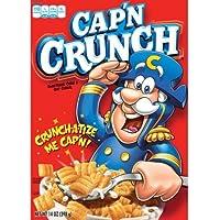 Cap'N Crunch Quäker, Getreide, 14Oz Verpackung (Verpackungung Mit 4)