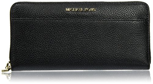Michael Kors Damen Money Pieces Kuriertasche, Schwarz (Black), 3x10x21 centimeters