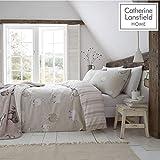 Catherine Lansfield Bettwäsche-Set Schaf, gebürstet, naturfarben, Baumwolle, Natur, Einzelbett