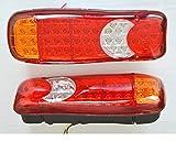 2?x 12?V LED-Stop hinten Schwanz Indikator Nebel R?ckseite Lichter f?r LKW Bus Camper Kippmulde Wohnmobil Lampen