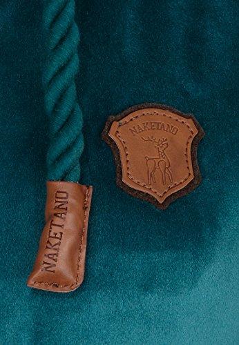 Naketano Female Zipped Jacket Brazzo Mack Deepthroat Ocean
