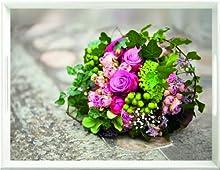 Emsa Classic Vassoio, Plastica, Flower Bouquet, 50x37 cm