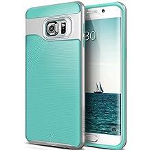 Funda Galaxy S6 Edge Plus, Caseology® [Serie Wavelength] Duradero Antideslizante Gota de Protección [Turquesa] para Samsung Galaxy S6 Edge Plus (2015) - Turquesa