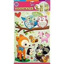 Edition Trötsch 39585 Adhesivo Decorativo para Pared de Animales