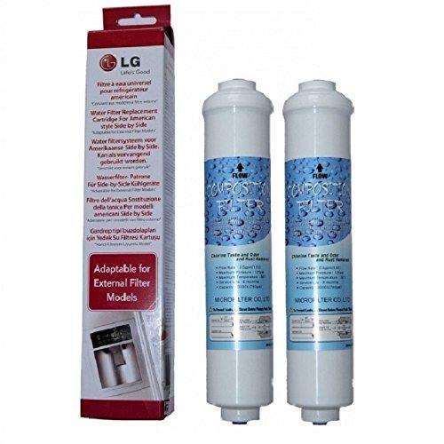 2 x LG Wasserfilter 5231JA2010B / 5231JA2010C für SBS Kühlschrank
