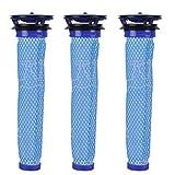Keepow Lot de 3 lavable Pre filtres de remplacement pour Dyson V6 V7 DC58 DC59 DC61 aspirateurs