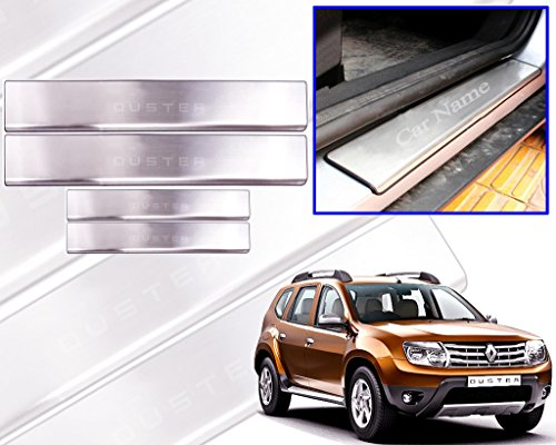auto pearl - premium quality car door stainless steel scuff plate foot steps for - renault duster Auto Pearl – Premium Quality Car Door Stainless Steel Scuff Plate Foot Steps For – Renault Duster 51RyAu KcmL