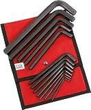 SAM Outillage 63-TR13 Jeu de 13 clés males longues 6 pans de 3 à 19 mm en trousse