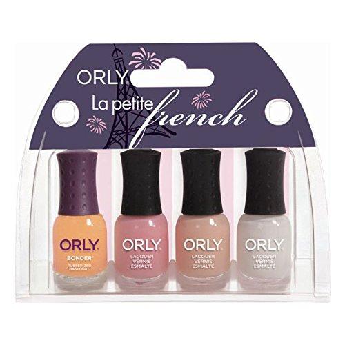 Orly Beauty Mini Nagellack Set - La Petite French Kit, 1 Stück (Sheer Set Mini)