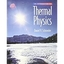 An Introduction to Thermal Physics by Daniel V. Schroeder (1999-08-28)
