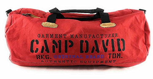 CAMP DAVID Camden Bay Weekender Red