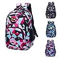 HCFKJ Schultasche, Rucksack Teenager Mädchen Jungen Schulrucksack Camouflage Printing Studenten Taschen