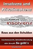 Insolvenz und Privatinsolvenz - Raus aus den Schulden: Insolvenzrecht, Schuldnerberatung oder Anwalt: So geht´s by Sonja Bischoff (2013-02-06)