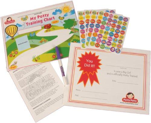 Potty Training Chart & Stickers: Personalized Potty Training Reward System (Potty Patty) por Narmin Parpia