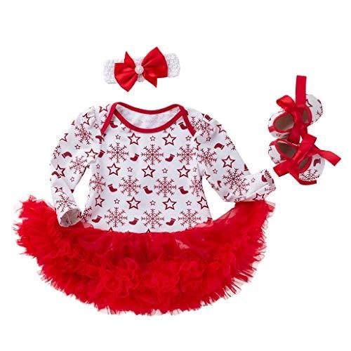 Zegeey Kleinkind Baby MäDchen Weihnachten Kleid Tutu